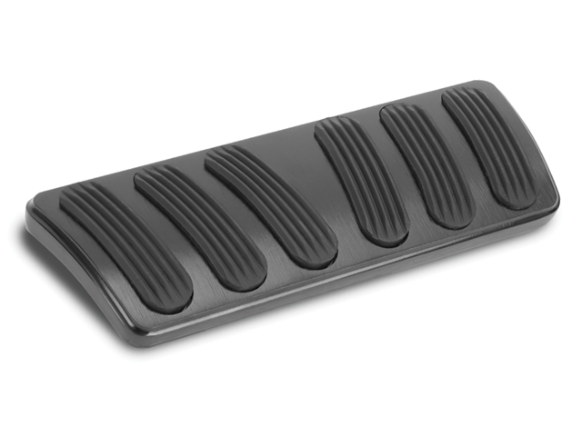 Black Curved Auto Brake Pad