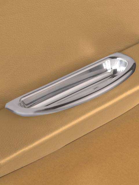 Polished Crescent Door Pull