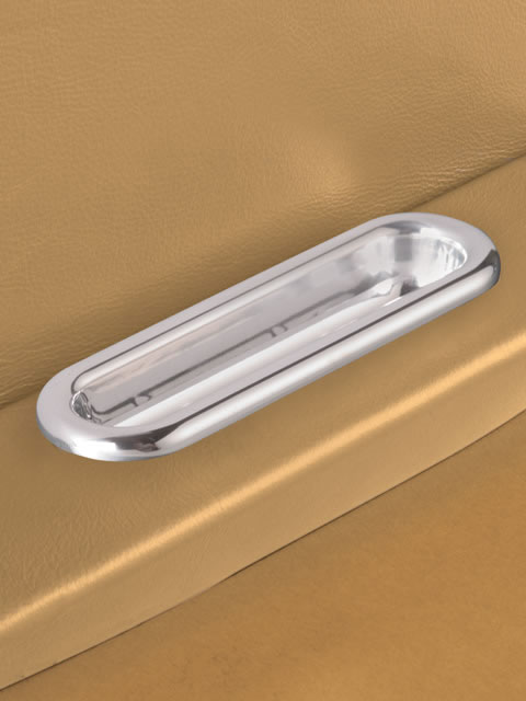 Polished Oval Door Pull