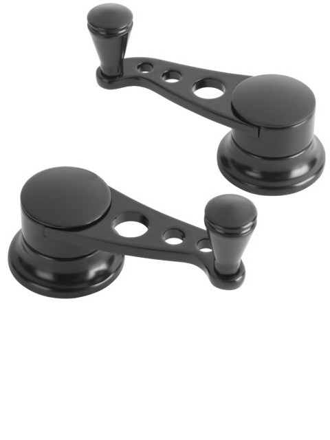 Lakester Midnight Series Vent Window Cranks (pair)
