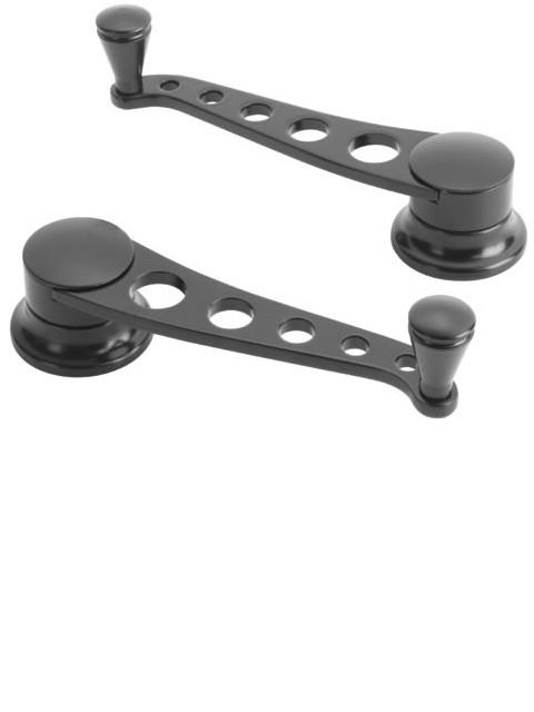 Lakester Midnight Series Window Cranks (Pair)
