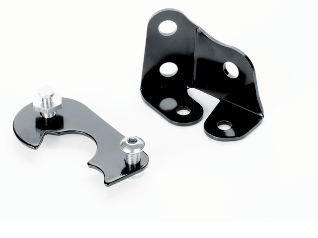 Black 350 Small Block Ramjet Bracket