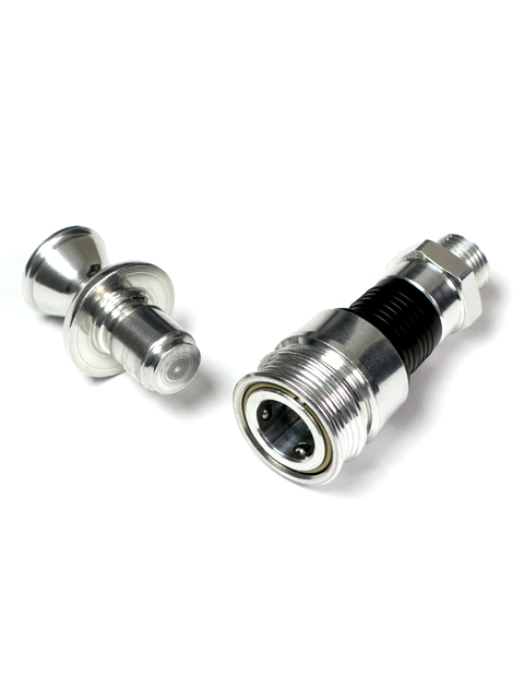 Spare Trans Fitting and Plug